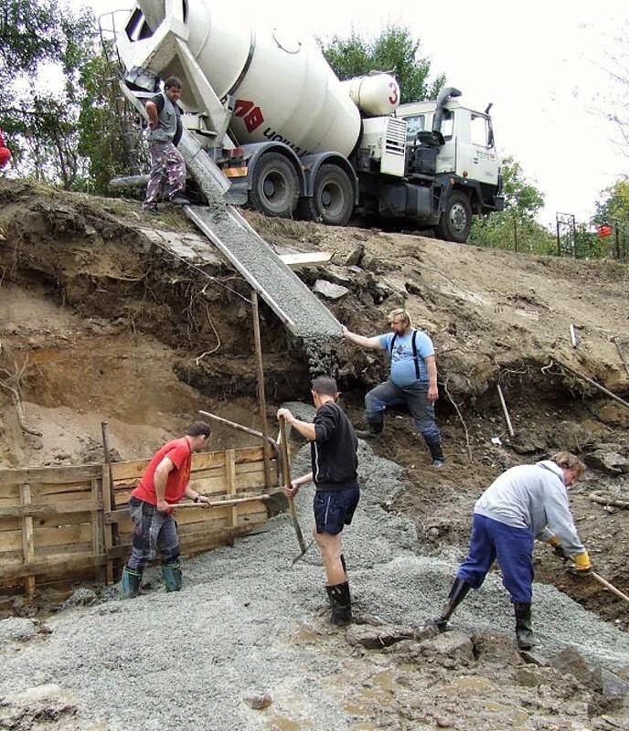 ZhotovenA� podkladnA�ho betonu, 5.10.2009
