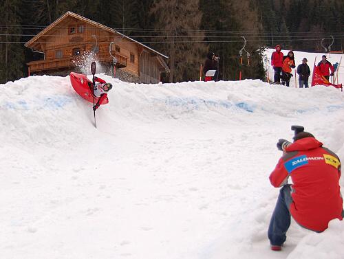 World championship snowkayak 2008
