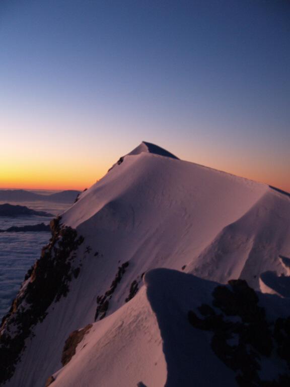 Český vystup na Mt Cooka v dost netradiční dobu