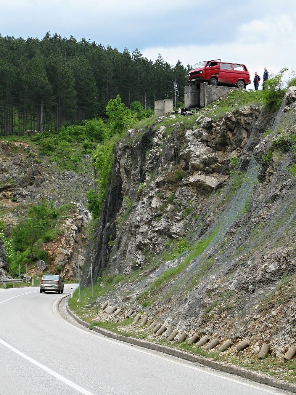 Bosna 2010 - Šemík před skokem