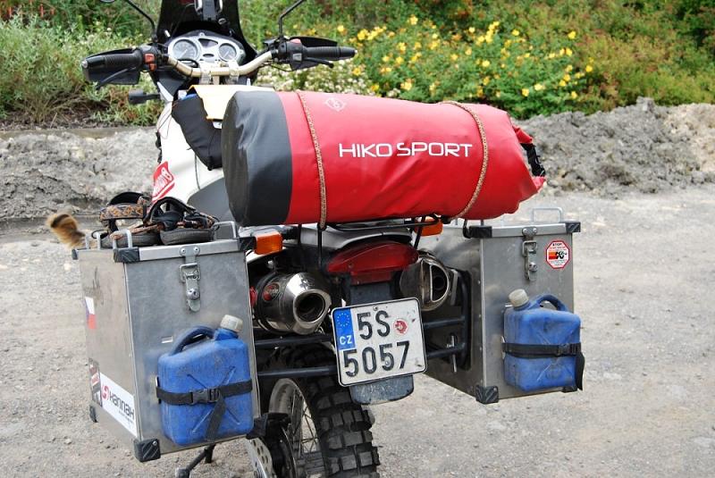 Enduro Kazachstán 2011 - děkujeme Hiko Sportu