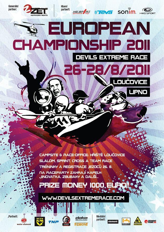 Devils race 2011 - plakA?t