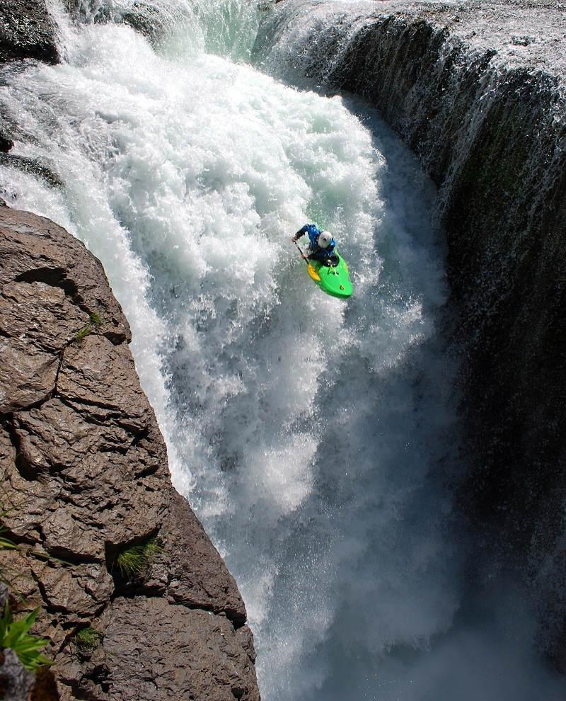 Lower Levis Falls - Seth a jeho parádní let