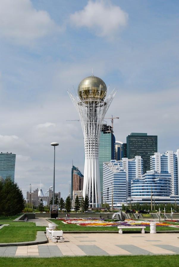 KazachstA?n v sedle motorky